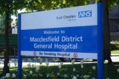 Further restrictions on visiting at Macclesfield Hospital