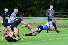 Rugby: Wolves scrape the narrowest of wins