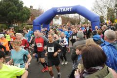 Countdown to the inaugural Wilmslow Running Festival