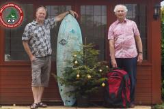 Virtual Christmas tree collection supports local hospice this summer