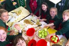 Children enjoy fruitful Harvest celebrations
