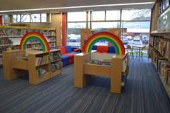 All aboard at Wilmslow Library