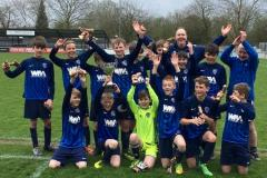 Football: U13s celebrate record-breaking season