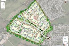 Plans for development of 217 homes on former Green Belt