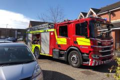 Firefighters tackle spate of deliberate fires in Dean Road area