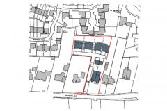 Plans for development of eight houses on Adlington Road