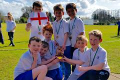 Ashdene cricketers win the inaugural Lindow Cup