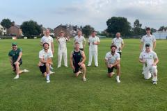 Cricket: Lindow advance after cup classic