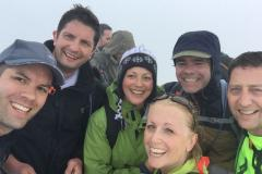Parents scale three peaks raising over £10,000