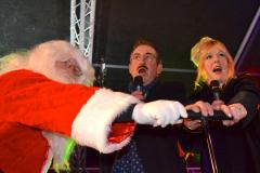 Lovely Jubbly: Boycie helps light up Wilmslow