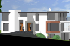 Green light to replace 1970s bungalow with modern apartment building