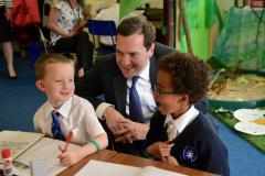 Chancellor heads back to school to hand out special awards