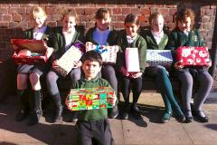 School collects festive boxes to help needy children