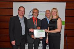 Further recognition for Friends of Handforth Station at national awards