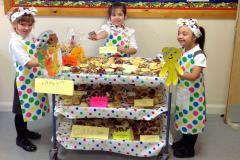 Youngsters bake for Children in Need