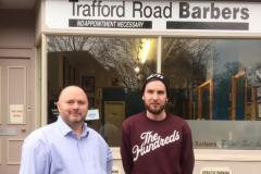 Fresh new talent and an exciting anniversary at Trafford Road Barbers