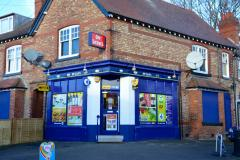 Man punched in the face during newsagent robbery