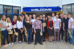 Wilmslow High students celebrate star A level grades