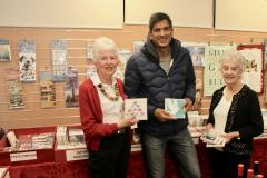 Celebrity GP opens charity Christmas card shop