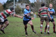 Rugby: Wolves win eagerly awaited local derby