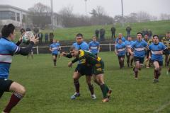 Rugby: Wolves scrape through to win at West Park