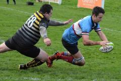 Rugby: Two late tries earn Wolves deserved win
