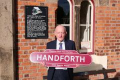 Friends of Handforth Station recognised with special award