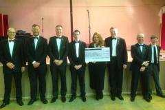 Wilmslow Round Table donates £7500 to local charity