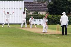 Cricket: Lindow singing in the rain