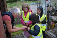 Dean Oaks children learn a lot from allotment visit