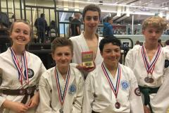 Jujitsu team shines in national championships