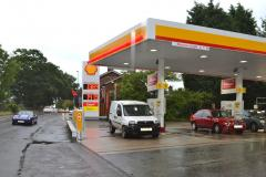 Plans to revamp petrol station withdrawn