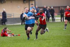 Rugby: Wolves kick off the new year with a comfortable win
