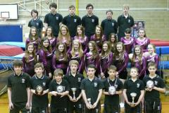 Trampolining teams qualify for National Championships