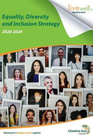 Equality Diversity and Inclusion Strategy front cover