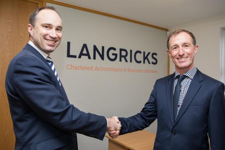 Image 3 Former Hurst director Andrew Milnes joins Chris Langrick (left) in non-exec role for growth