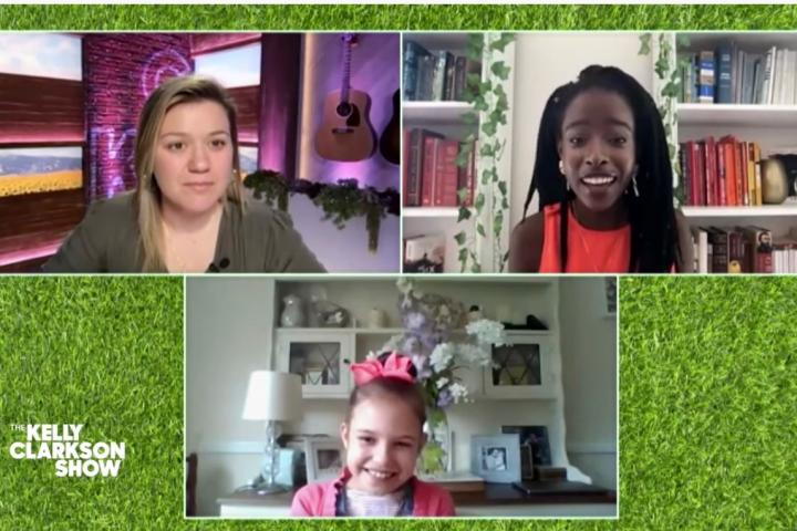 Kelly Clarkson surprises 10-year old Wilmslow poet with a ...