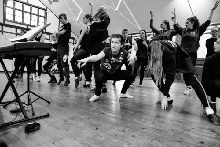 CATS in Rehearsal