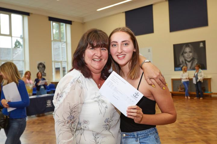 Lucy Wylie pictured with a proud Mum!