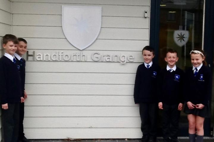 Handforth Grange children