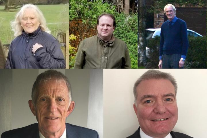 Wilmslow Candidates Collage