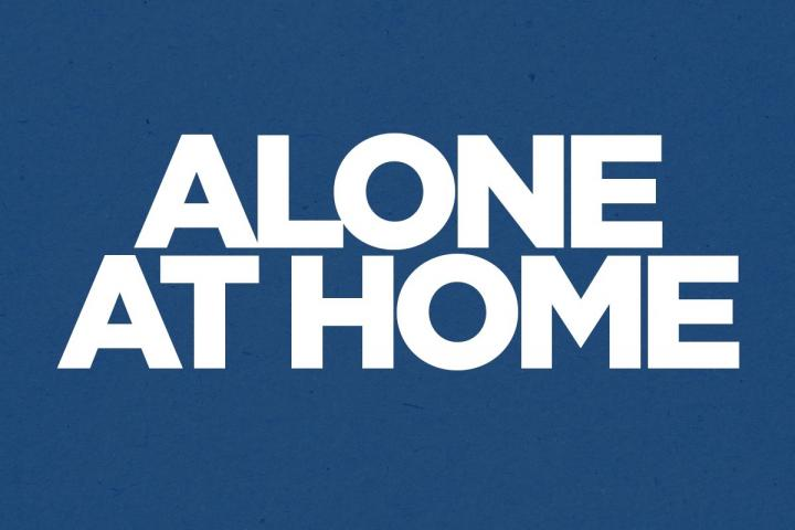 ALONE AT HOME TILE