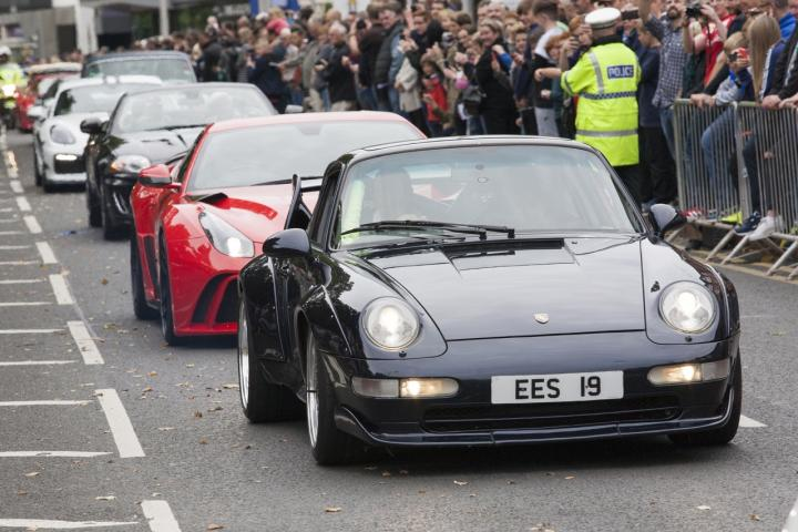Wilmslow Motor Show attracts bumper crowds
