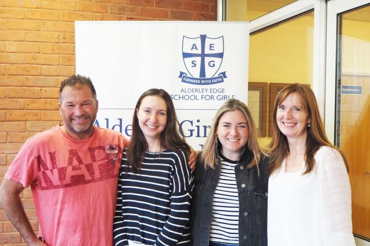 Well done to Katrina Thornber (pictured with family) on achieving your place at Bristol University to study Neuro Science!
