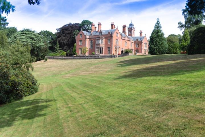 Norcliffe Hall in Styal, built for Robert Hyde Greg of Quarry Bank Mill in 1831