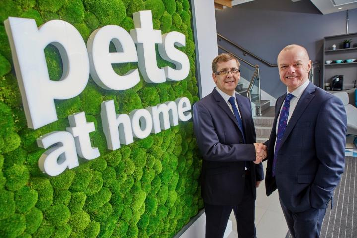 Graham Harrison, left, Group Property Director, Pets at Home with  Paul McLeman, Leasing Director, Orbit Developments2