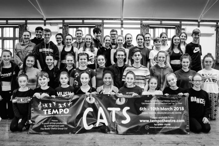 TEMPO cast of CATS  2018