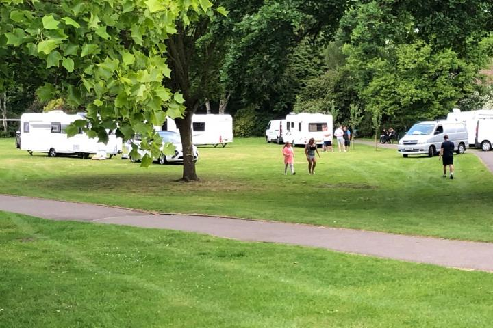 Travellers move on from leisure centre to Alderley Edge Park
