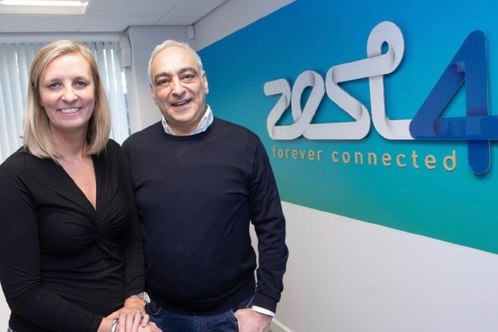 BD Director Mandy Fazelynia and CEO Freddie Fazelynia overseeing expansion for Zest4 in Wilmslow